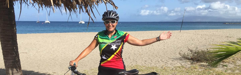 Biking on Caribbean Multisport Adventure Tour