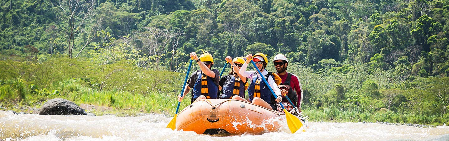 Rafting on Rio Savegre in Costa Rica