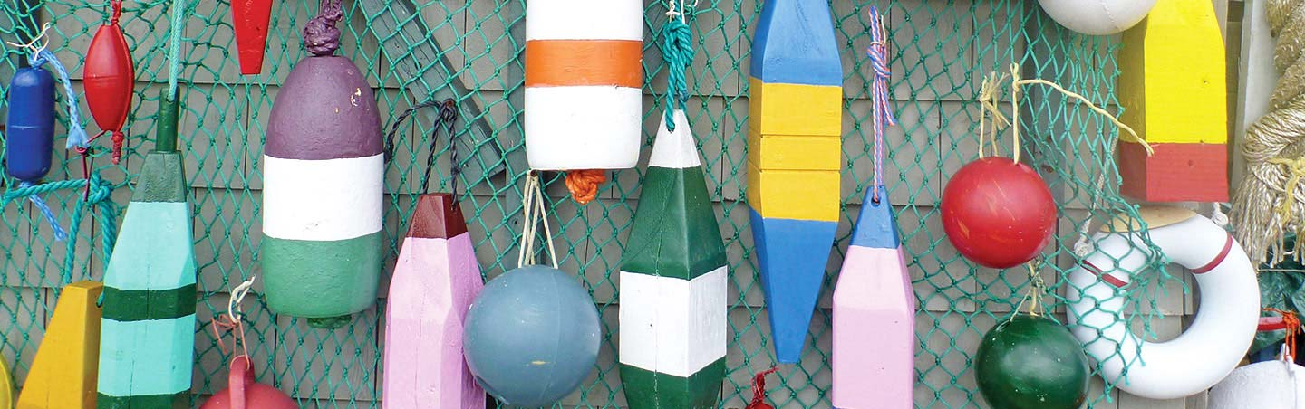 Buoys - Backroads Nova Scotia Family Multisport Adventure Tour