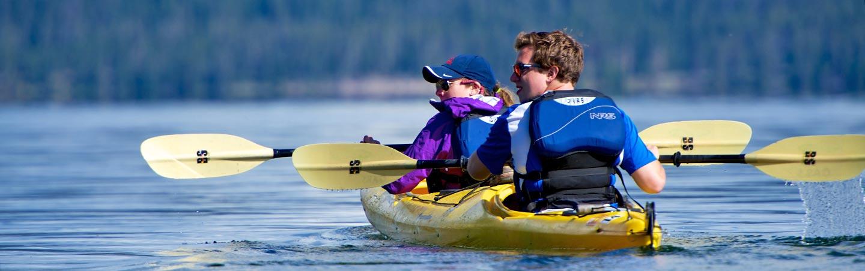 Kayaking - Yellowstone and Grand Tetons Family Multisport Adventure Tour