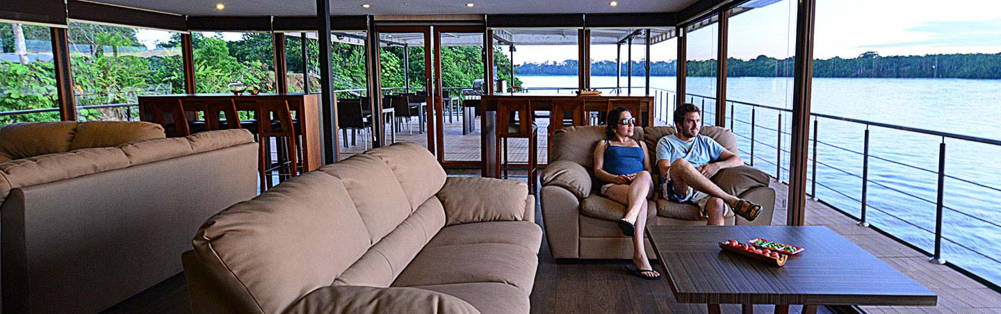 Amazon Rive Cruise - Backroads Galapagos, Andes and Amazon River Cruise Walking Tour