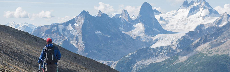 Hiking, Backroads Canadian Rockies Heli-Hiking Tour