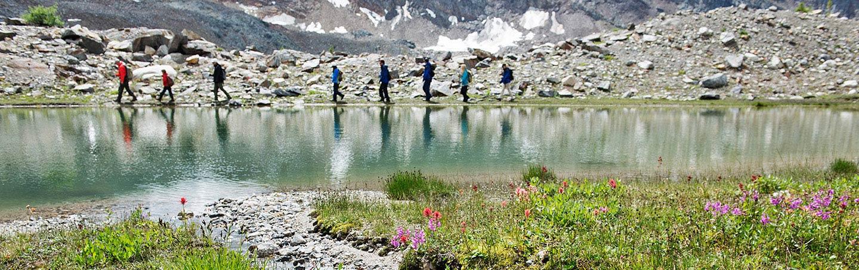 Hiking - Backroads Canadian Rockies Family Breakaway Heli-Hiking Tour