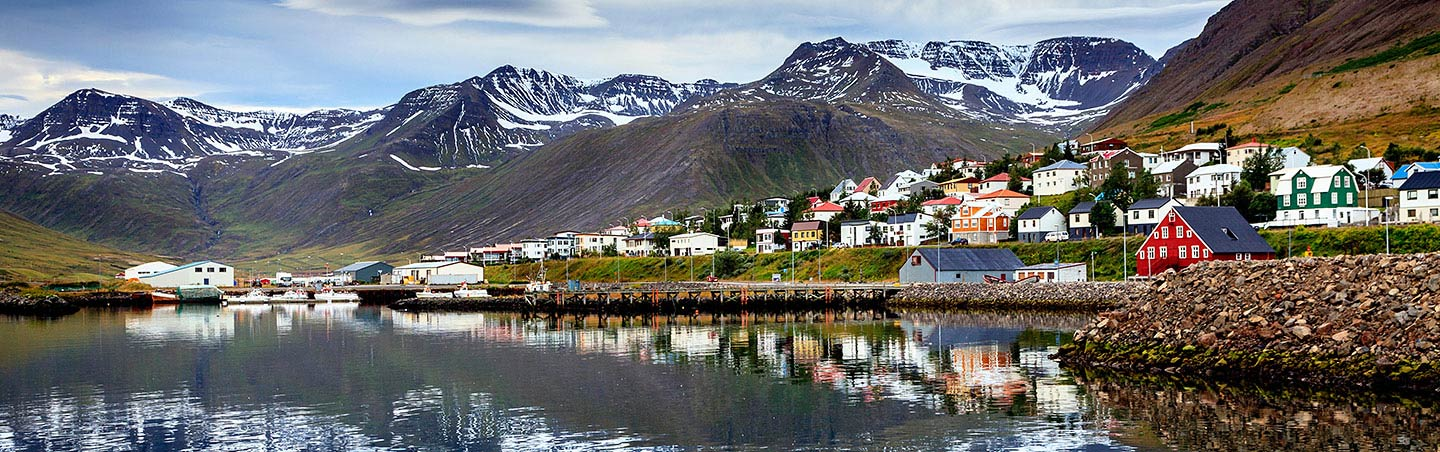 Fishing Village - Backroads Iceland Family Breakaway Walking & Hiking Tour