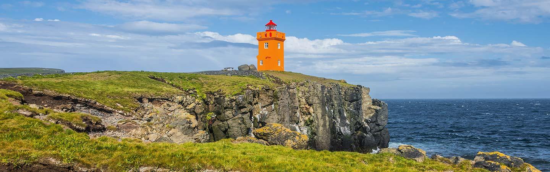 Grimsey Island Lighthouse, Iceland