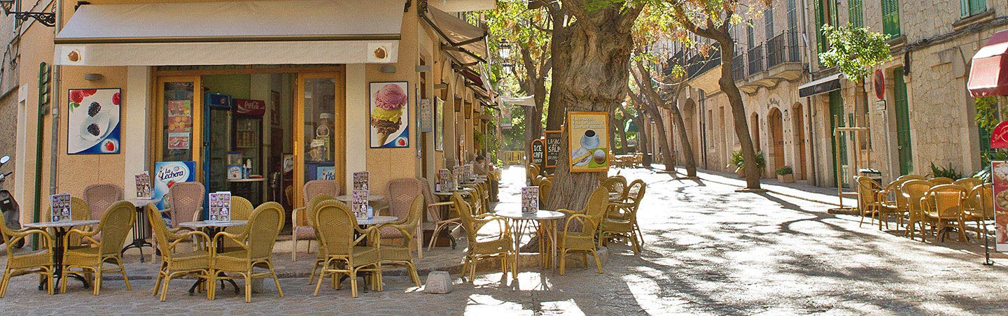 Cafe on Backroads Mallorca Walking & Hiking Tour
