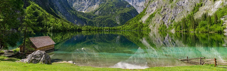 Lake Obersee - Backroads Salzburg to Munich Walking & Hiking Tour