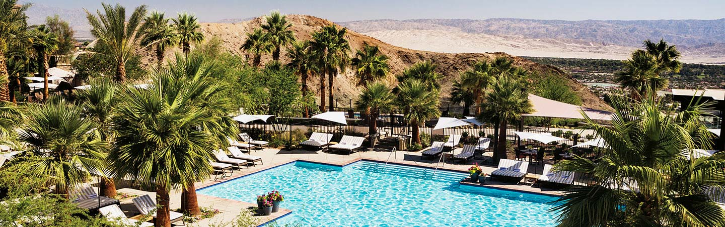 Pool at the Ritz Carlton - Palm Springs & Joshua Tree Walking & Hiking Tour