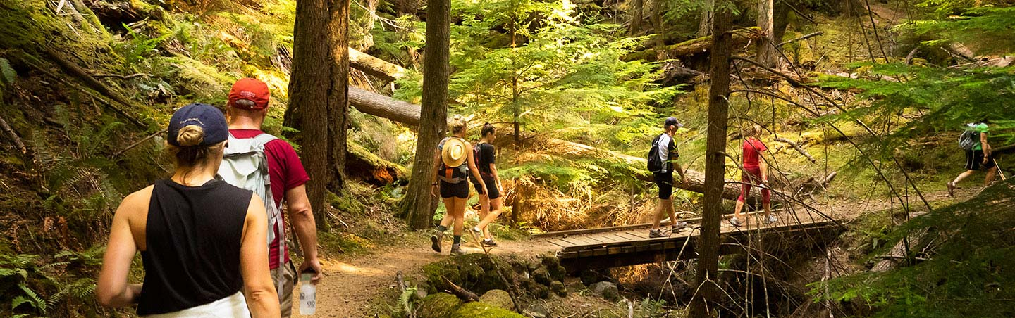 Hiking in the San Juan Islands, Washington