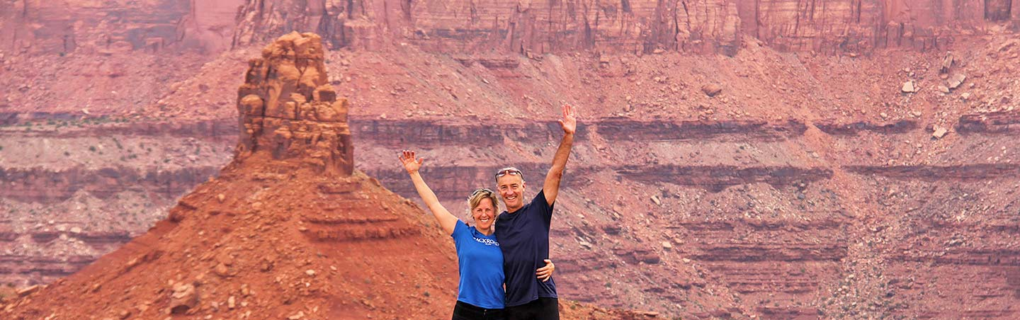 Hiking on Backroads Arches & Canyonlands to Colorado National Monument Walking & Hiking Tour