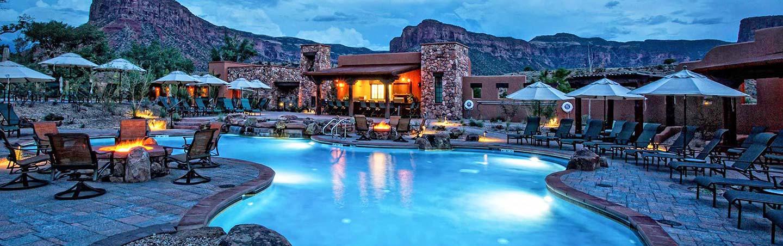 Pool at Gateway Canyons Resort - Backroads Walking Tour