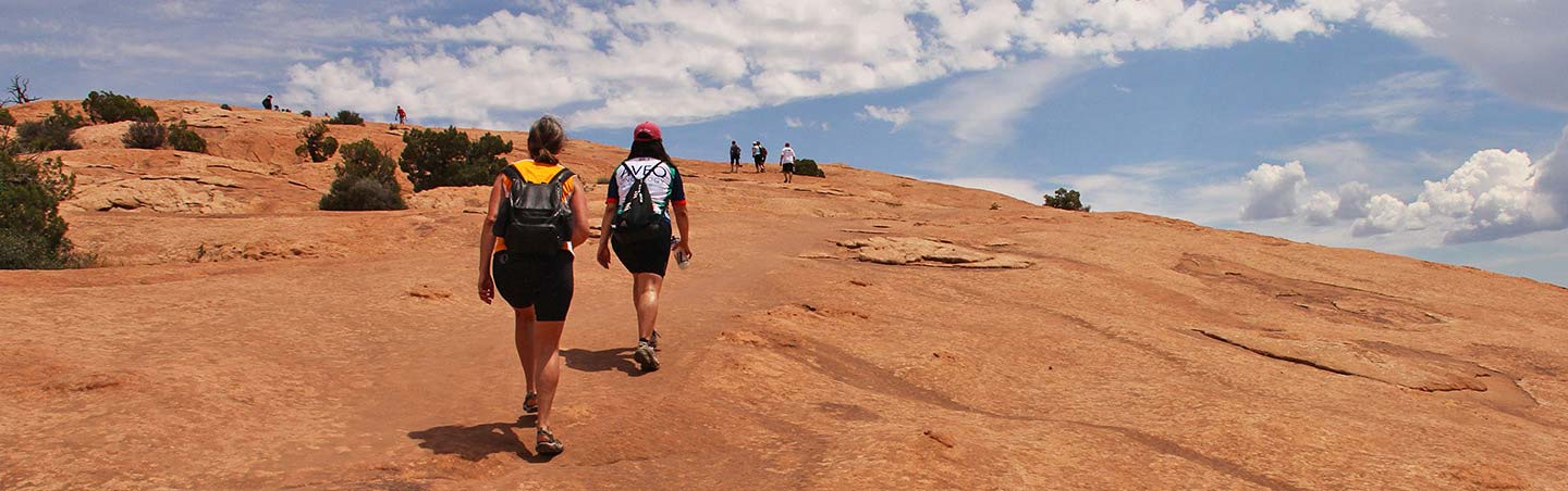 Arches & Canyonlands to Colorado National Monument Walking & Hiking Tour