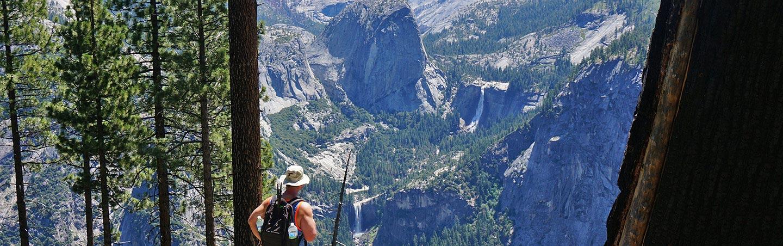Hiking in Yosemite National Park, Backroads