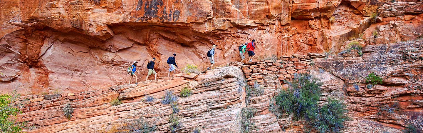 Hiking on Backroads Zion & Snow Canyon Walking & Hiking Tour