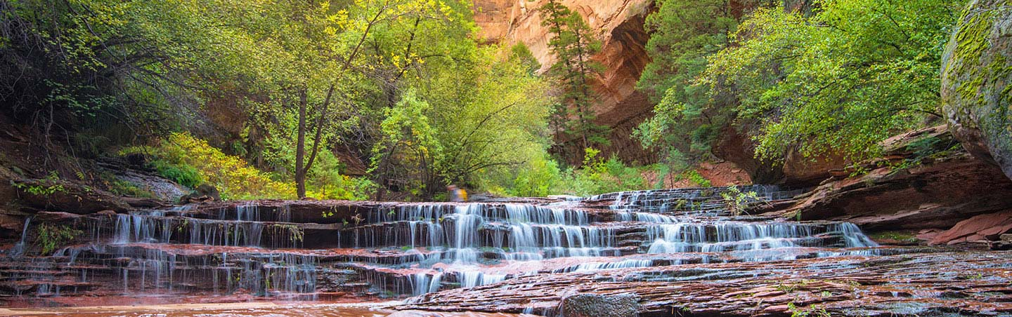 Waterfalls, Backroads Zion & Snow Canyon Walking & Hiking Tour