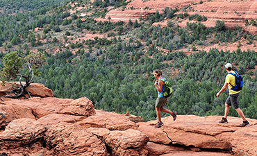 Sedona Arizona walking and hiking tour
