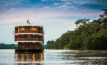 Galapagos, Andes and Amazon River Cruise Multisport Tour