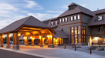 Canyon Lodge, Yellowstone National Park, Wyoming
