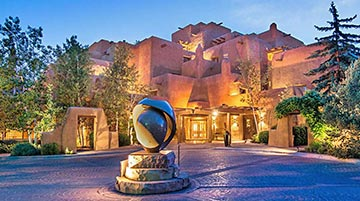 Inn and Spa at Loretto, Santa Fe, New Mexico