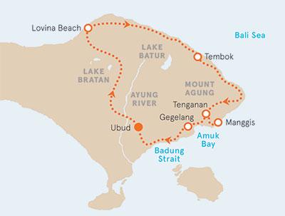 Bali bike tour bike tours in bali backroads bali biking map gumiabroncs Gallery