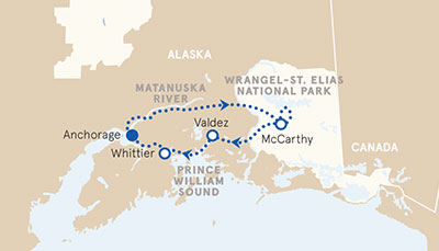 5-Nights Alaska Family Multi-Adventure Tour - Older Teens and 20s (Casual Hotels)