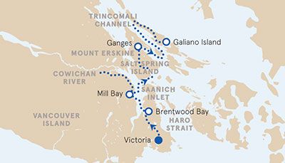 Gulf Islands Multisport Map