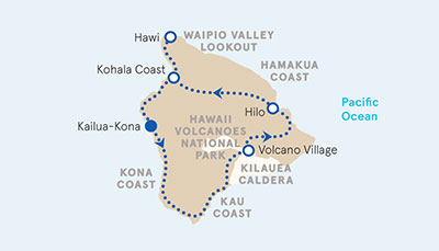 Hawaii Multisport Map