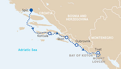 Croatia to Montenegro Adventure Tour Backroads