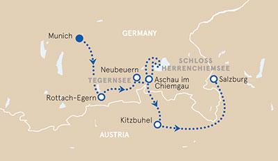 Munich to Salzburg Family Bike Hike Tour Germany Austria