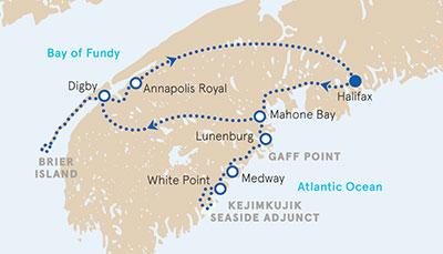 Nova Scotia Multisport Map