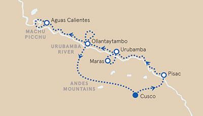Peru Multisport Map