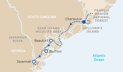 Charleston to Savannah Biking Walking Tours Backroads