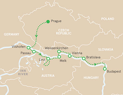 Danube River Cruise Walking and Hiking Tour