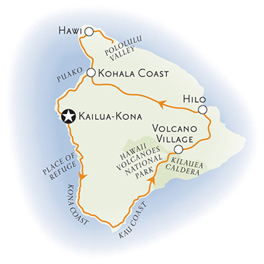 Hawaii Multisport Map