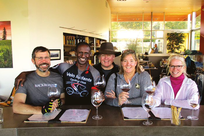 Wine tasting - California Wine Country Weekend Bike Tour