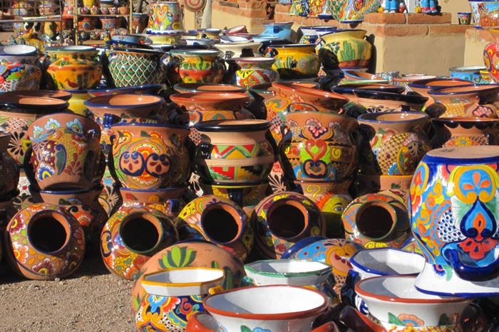 Native American Pottery - Tucson & Sonoran Desert Bike Tour