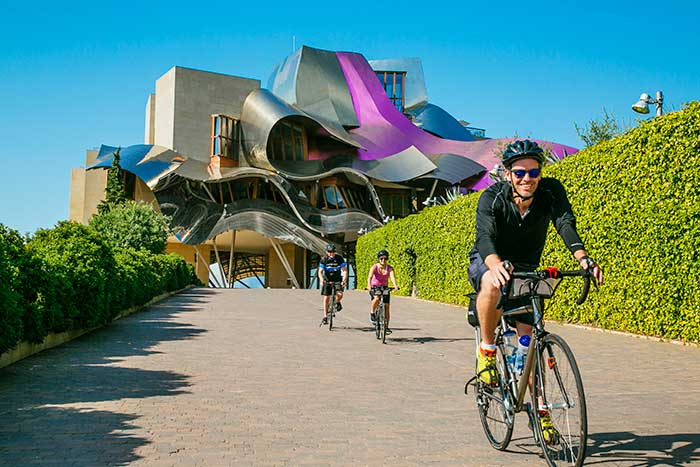 Hotel Marques de Riscal - French Pyrenees and Spain's Rioja Region Bike Tour