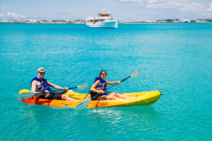 Kayaking in Bermuda