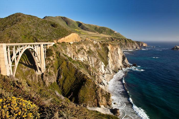 Bixby Creek Bridge - Big Sur Bike Tours