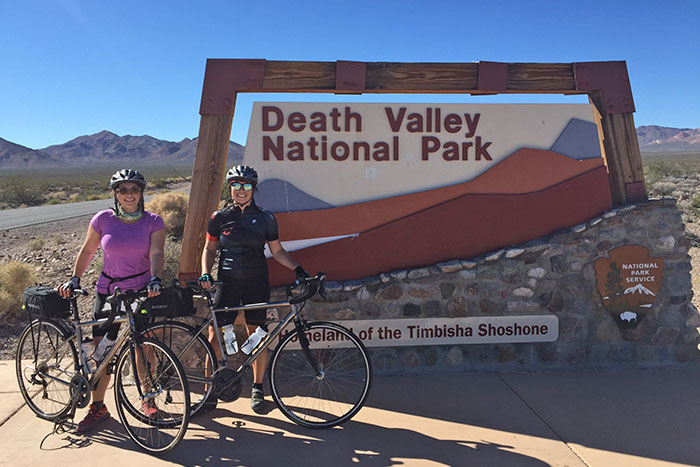 Cycling in Death Valley