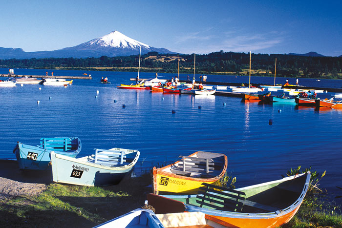 Boats - Chile's Lake & Volcano District Bike Tour