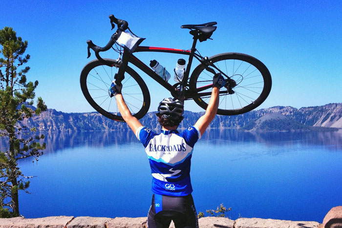 Crater Lake Oregon Bike Tour