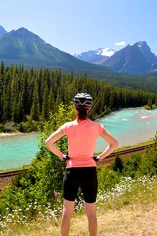 Canadian Rockies Family Bike Tour - Older Teens & 20s