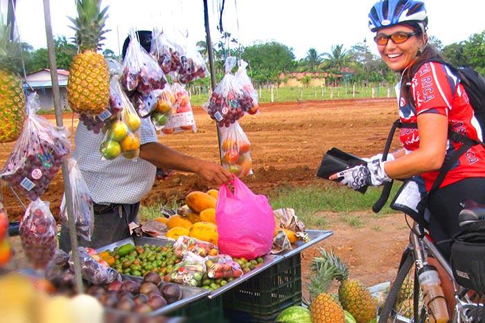 Fruit Stand - Costa Rica Bike Tour