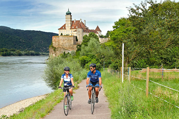 Biking on our Danube River Cruise
