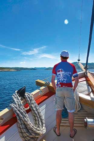 Boat in Dalmatian Coast