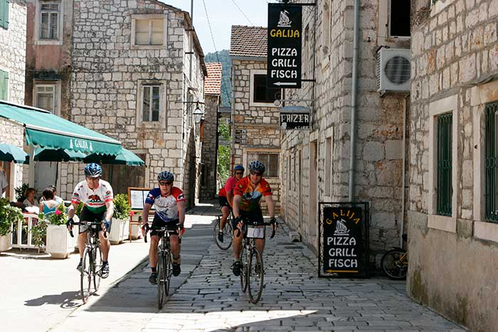 Backroads Dalmatian Coast Family Biking Trips