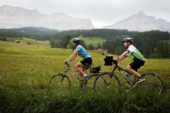 Familiy biking - Dolomites Family Bike Tour