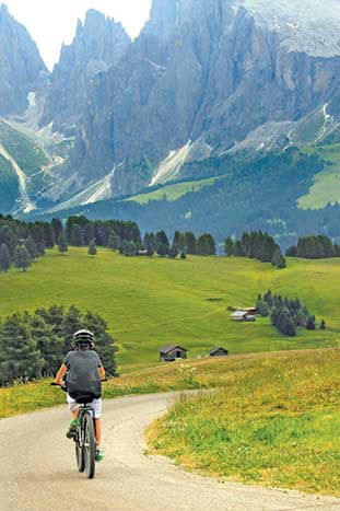 Dolomites Family Bike Tour