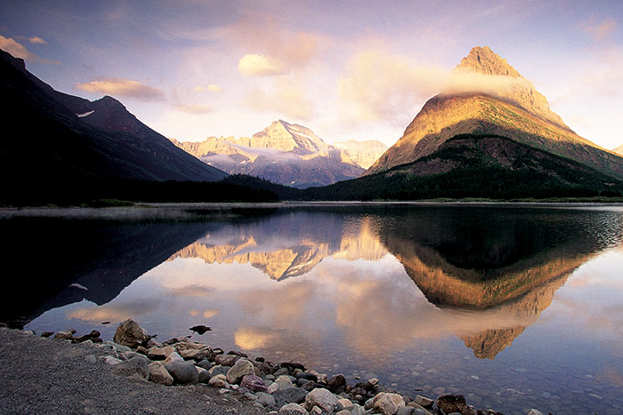 Swiftcurrent Lake - Backroads Glacier & Waterton Lakes Bike Tour